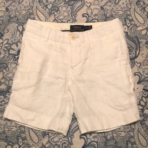Polo Ralph Lauren Boys Linen Shorts